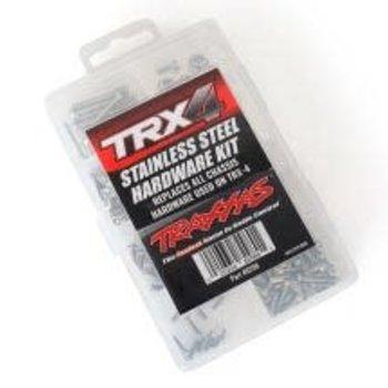 Traxxas Hardware kit, stainless steel, TRX-4 (contains all stainless steel hardware used on TRX-4)