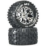 "DTX Lockup MT 2.8"" 2WD Mounted 1/2"" Offset Chrm (2"