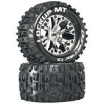 """DTX Lockup MT 2.8"""" 2WD Mounted 1/2"""" Offset Chrm (2"""