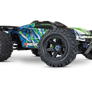 Traxxas E-Revo VXL Brushless: 1/10 Scale 4WD Brushless Electric Monster Truck with TQi 2.4GHz Traxxas Link Enabled Radio System and Traxxas Stability Management Shipping inc