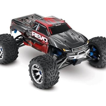 Traxxas Revo 3.3: 1/10 Scale 4WD Nitro-Powered Monster Truck (with Telemetry Sensors) with TQi 2.4GHz Radio System, Traxxas Link Wireless Module, and Traxxas Stability Management (TSM)