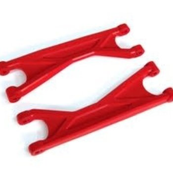 Traxxas SUSPENSION ARMS RED UPPER HD