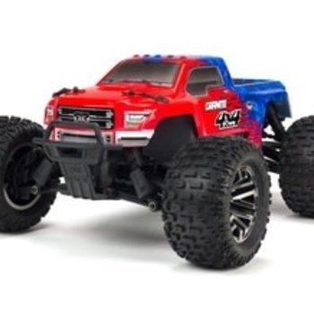 arrma 1/10 Granite 4X4 3S BLX 4WD MT (Red/Blue)