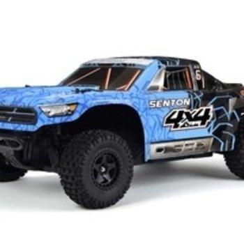 arrma 1/10 Senton Mega 4x4 Brushed 4WD SC Blue/Black