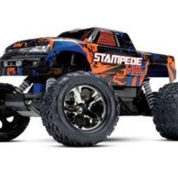 Traxxas TRA36076-4-orange STAMPEDE VXL RTR W/TSM