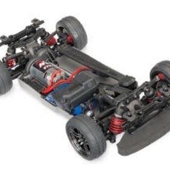 Traxxas 4-Tec 2.0: 1/10 Scale AWD Chassis with TQ 2.4GHz Radio System BRUSHED