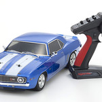 KYOSHO 1/10 1969 Chevy Camaro Z28 RTR, w/ Le Mans Body, Blue (Online price includes ground shipping to the lower 48 states)