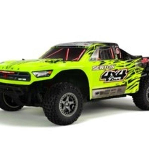 arrma 1/10 Senton 4X4 3S BLX 4WD SC (Green/Black)