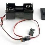 Traxxas 1523 BATT HLDR/SWTCH/CVR VILLN