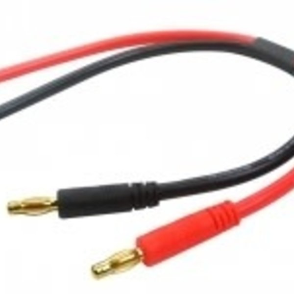 Commonsence RC Banana Plugs Charging Adapter with Bare Leads