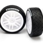 Traxxas 7372 TIRES/WHEELS ASSMBLD RLLY