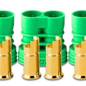 Castle Creations 6.5mm Polarized Bullet Conn Female Set 200A