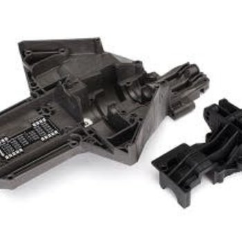 Traxxas Bulkhead, rear (upper & lower), center differential (replacing #7727 & #7728 requires #5107A ball bearings (2))