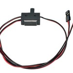 APEX Apex RC Products JR Style 3 Way On/Off Switch W/ Charge Lead