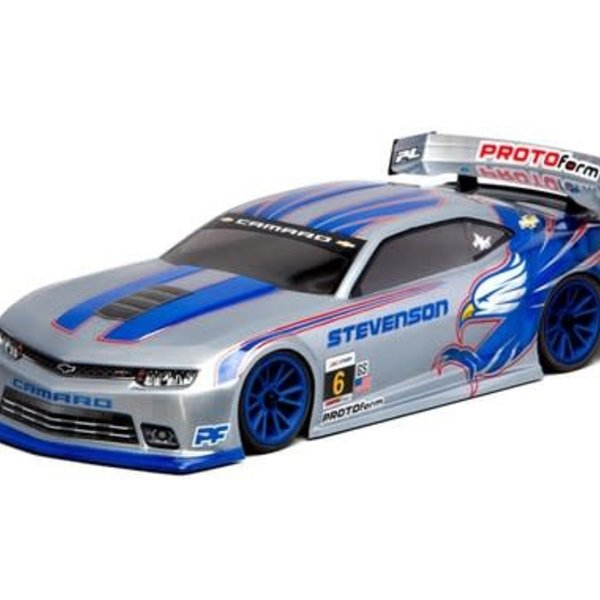 1544-30 Chevy Camaro Z28 Clear Body 190mm
