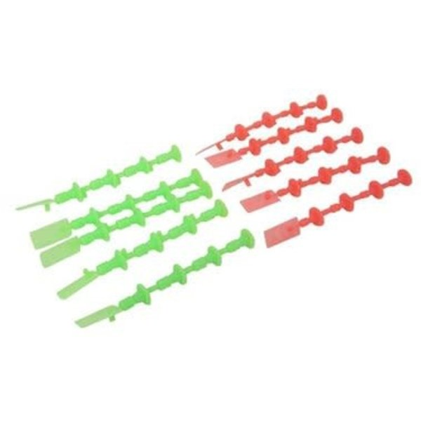 EST 1/4A 1/2A A3 A10 Starter Plugs (5 Orange,5 Green)