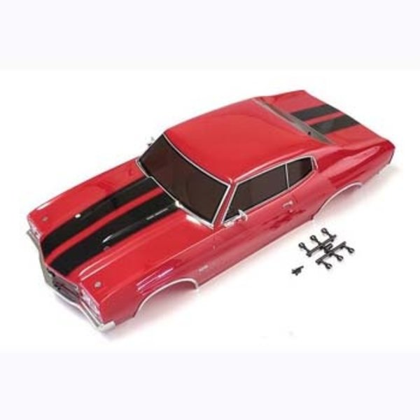 KYOSHO Completed Body Set (Chevelle Cranberry Red)