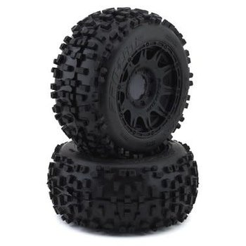"PROLINE Badlands 3.8"" MTD Raid 8x32 Wheels 17mm MT F/R"