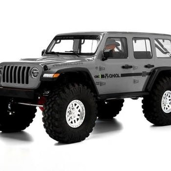 axial SCX10III Jeep JLU Wrangler w/Portals,Gray:1/10 RTR