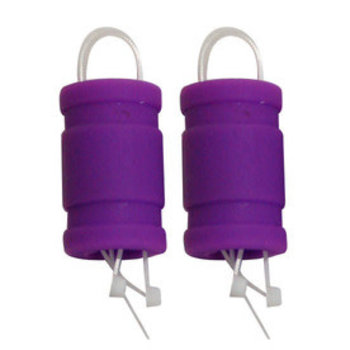 21 SILICONE EXHAUST COUPLER LT PURPLE (2