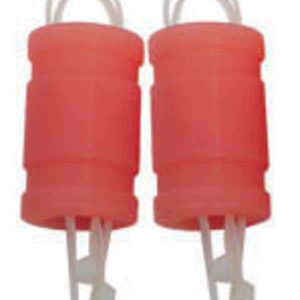 21 SILICONE EXHAUST COUPLER NEON OR (2)