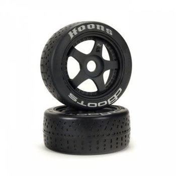 arrma 1/7 dBoots Hoons 42/100mm Silver Belted Tires with 2.9 5-Spoke Wheels, 17mm Hex (2)
