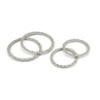 PROLINE Impulse Pro-Loc Stone Gray Replacement Rings (2)