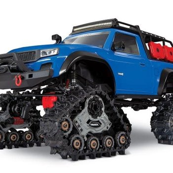 Traxxas TRX-4 with All-Terrain Traxx: 4WD Electric Truck with TQ 2.4GHz Radio System