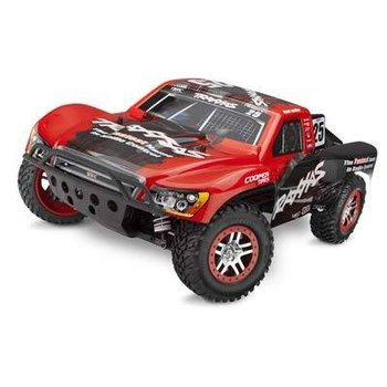 Traxxas 68086-3 1/10 Slash 4X4 4WD Electric SC RT Blue #7 Kincd