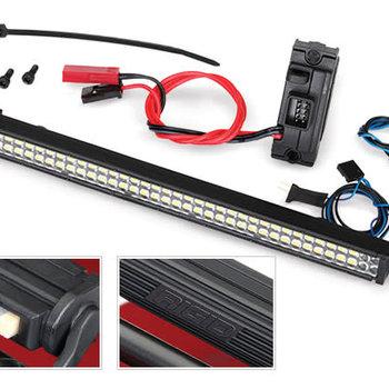 Traxxas LED light bar kit (Rigid)/power supply, TRX-4