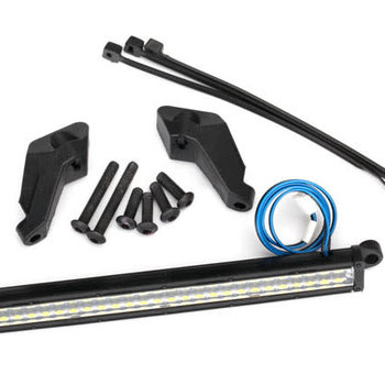 Traxxas LED light bar, front (high-voltage) (52 white LEDs (double row), 100mm wide)