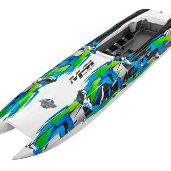 Traxxas Hull, DCB M41, green (fully assembled)