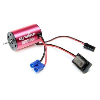 Dynamite Brushless Motor/ESC, 2n1 Combo, 6000Kv: Mini-T 2.0