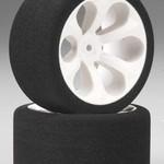 2050 1/10 RE TIRE/WHL RSTLR PK 13.5 mm foam debth