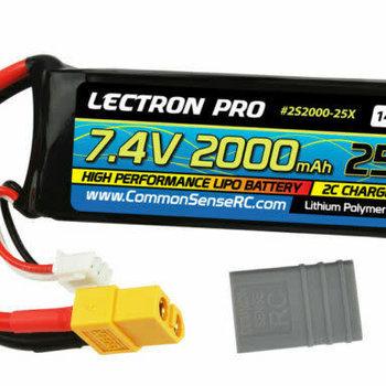 Lectron Pro 7.4v 2s 2000mah Battery