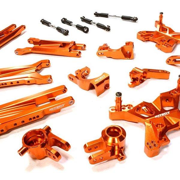 Integy Billet Machined Suspension kit for Traxxas 1/10 slash 4x4