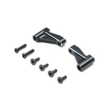 LOS Front Brace Set, Aluminum: Mini-T 2.0
