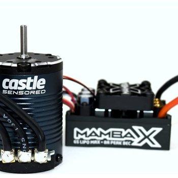Castle Creations MAMBA X, 25.2V WP ESC,1406-2850Kv Sensored:Crawler