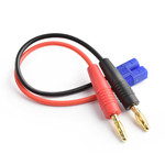 APEX APEX RC PRODUCTS EC3 -> 4MM BANANA PLUGS BATTERY CHARGE LEAD