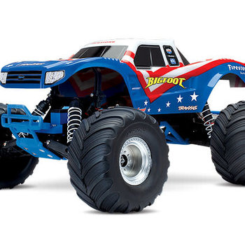 Traxxas Bigfoot: 1/10 Scale Officially Licensed Replica Monster Truck with TQ 2.4GHz radio system