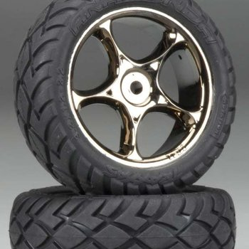 Traxxas 2479A Tires & Wheels Assembled Bandit Front (2)