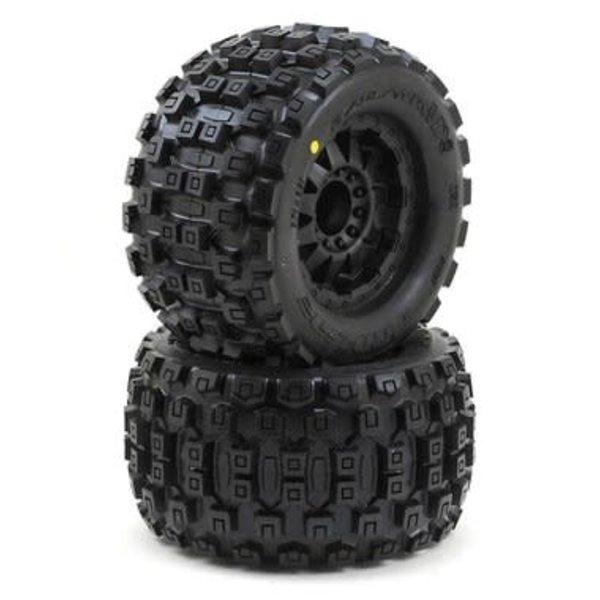 """PROLINE 10127-13 Badlands MX38 3.8"""" All Ter Tires Mounted (2)"""