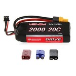 VENOM 15023 LiPo 2S 1P 7.4V 2000mAh 20C Univ Plug System