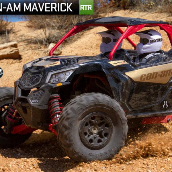 AXI 1/18 Yeti Jr. Can-Am Maverick 4WD Brushed RTR