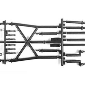 AX31391 Body Posts SCX10 II