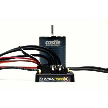 Castle Creations MAMBA MICRO X 12.6V ESC 1406-2850KV Sensored Combo