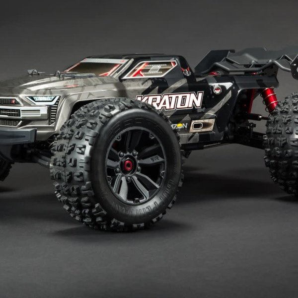 arrma ARA106053 1/8 KRATON 4WD  KRATON 1/8 4WD Extreme Bash Roller Speed Black (Online price includes ground shipping to the lower 48 states)