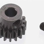 8616 Extra Hard 16T Blackened Steel 32P Pinion 5mm