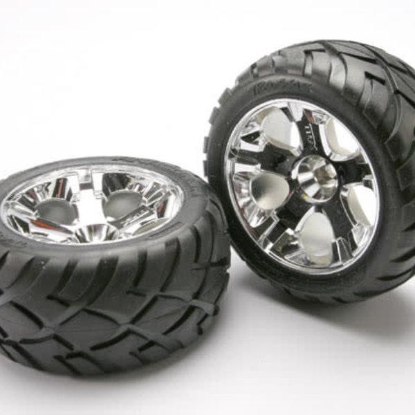 Traxxas 5577R Tires & Wheels Front Jato 3.3