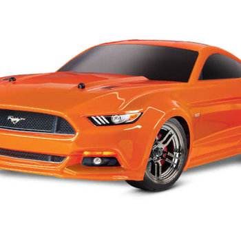 Traxxas Ford Mustang GT®: 1/10 Scale AWD Supercar. Ready-To-Race® with TQ 2.4GHz radio system and XL-5 ESC (fwd/rev)